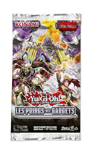Boosters Yu-Gi-Oh! Les Poings des Gadgets – VF
