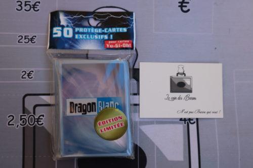 Paquet de 50 pochettes Dragon Blanc