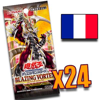 Précommande – Boîte Vortex Éclatant (Display de 24 boosters) en Français