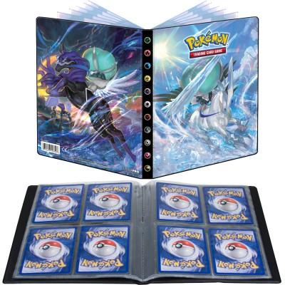 Pokémon – Ultra Pro – Portfolio – EB06 – Règne de Glace – Sylveroy Cavalier du Froid / Sylveroy Cavalier d'Effroi – A5 – 4 Cases