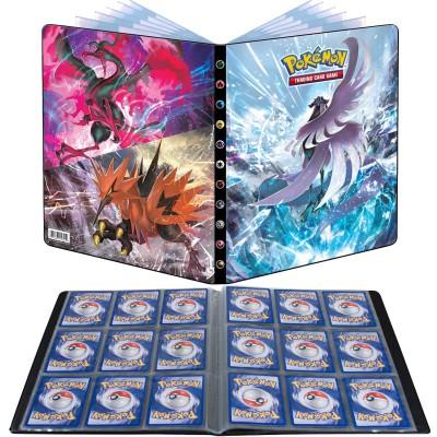 Pokémon – Portfolio – EB06 – Règne de Glace – Artikodin de Galar / Sulfura & Electhor de Galar – A4 – 9 Cases