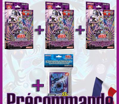 Précommande 3x deck de structure marionnettes de l'ombre + 1 paquet de pochettes x55